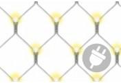 320 LED Lichternetz Lichterkette warm weiß 1,8 x 2,3 m Trafo Timer  Aussen Xmas