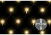 diLED 100er LED Lichternetz warmweiß erweiterbar Lichterkette System LED XMAS