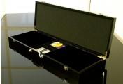 Pokerkoffer Holzkoffer Schwarz Poker-Set Wooden Black Edition für 500 Pokerchips