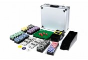 Pokerkoffer Deluxe 600 OCEAN CHAMPION CHIP abgerundete Laser Pokerchips Pokerset