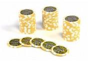 50 Poker-Chips Wert 1000 Laserchip 12g Metallkern OCEAN-CHAMPION-CHIP abgerundet