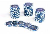 50 Poker-Chips Wert 50 Laserchip 12g Metallkern OCEAN-CHAMPION-CHIP abgerundet