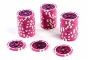 50 Poker-Chips Wert 5000 Laserchip 12g Metallkern ergänzend zum Pokerkoffer