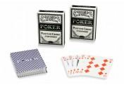 Pokerkarten 100% Kunststoff 2 Decks á 54 Blatt Plastikkarten Spielkarten