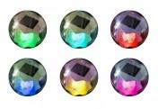 3x Schwimmkugel mit Solarbeleuchtung mit Farbwechsel