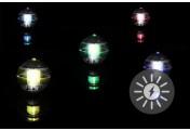 5x Schwimmkugel mit Solarbeleuchtung mit Farbwechsel