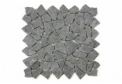 DIVERO 9 Fliesenmatten Naturstein Mosaik Andesit Wand Boden grau á 35x35cm