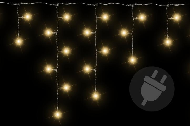 40 LED blau Sternenkette Lichterkette Stern für Außen Weihnachten XMAS Trafo