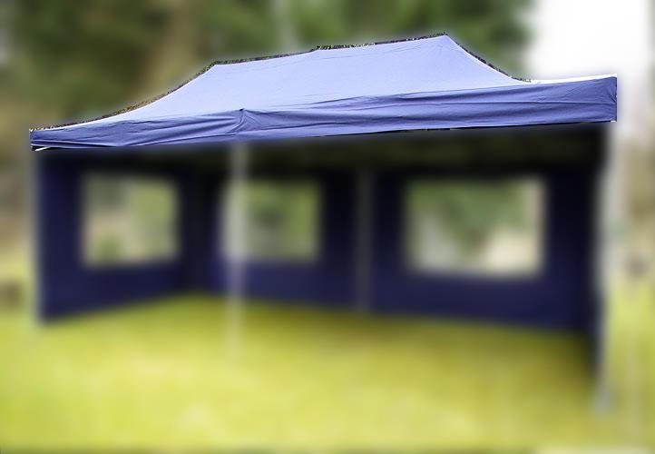 ERSATZDACH für PROFI Falt Pavillon blau 3x3 m wasserdicht versiegelte Nähte